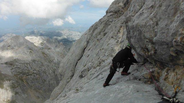 escalada Peña Santa